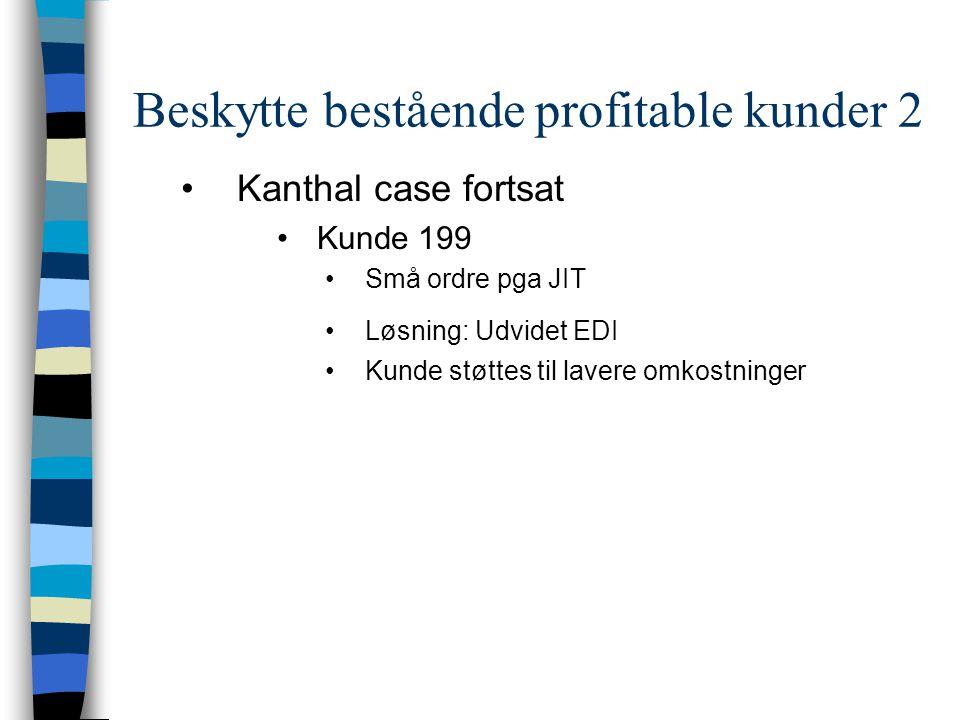 Beskytte bestående profitable kunder 2