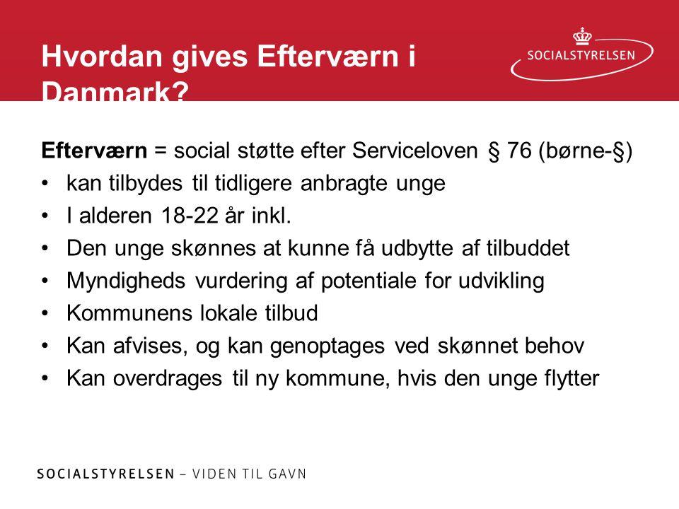 Hvordan gives Efterværn i Danmark