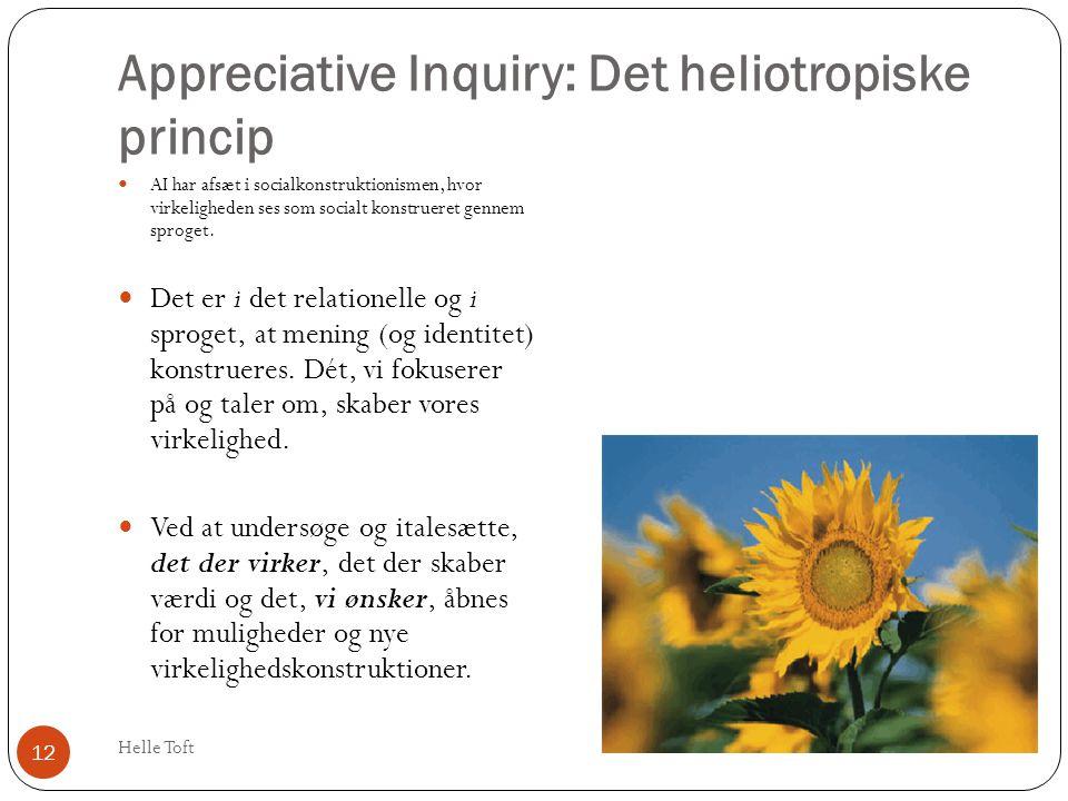 Appreciative Inquiry: Det heliotropiske princip