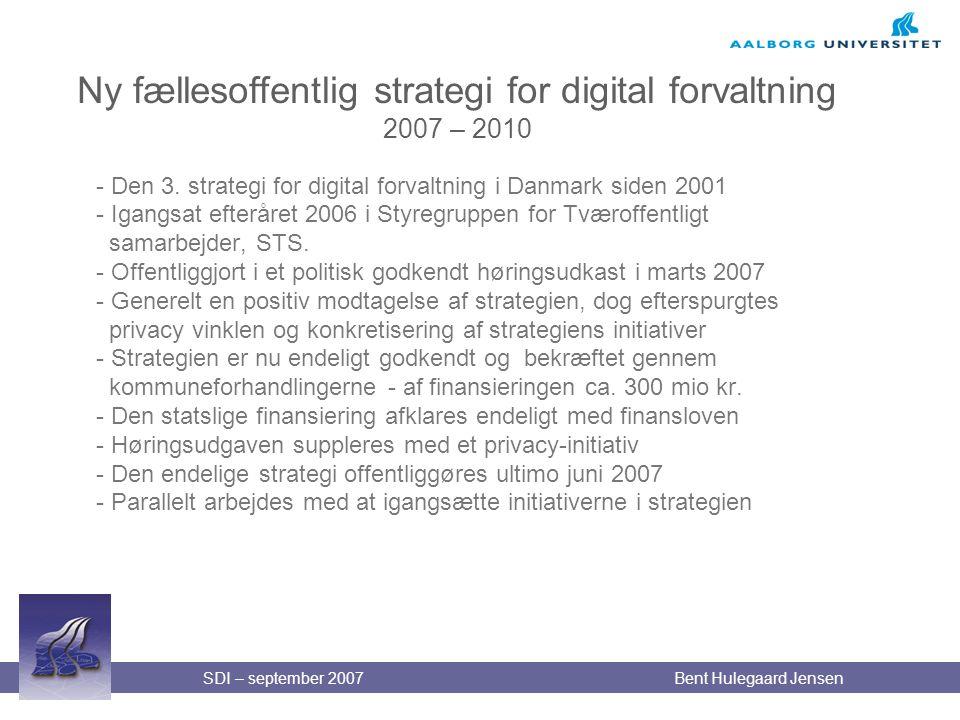 Ny fællesoffentlig strategi for digital forvaltning 2007 – 2010