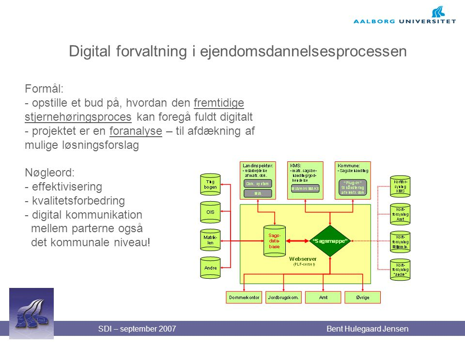 Digital forvaltning i ejendomsdannelsesprocessen