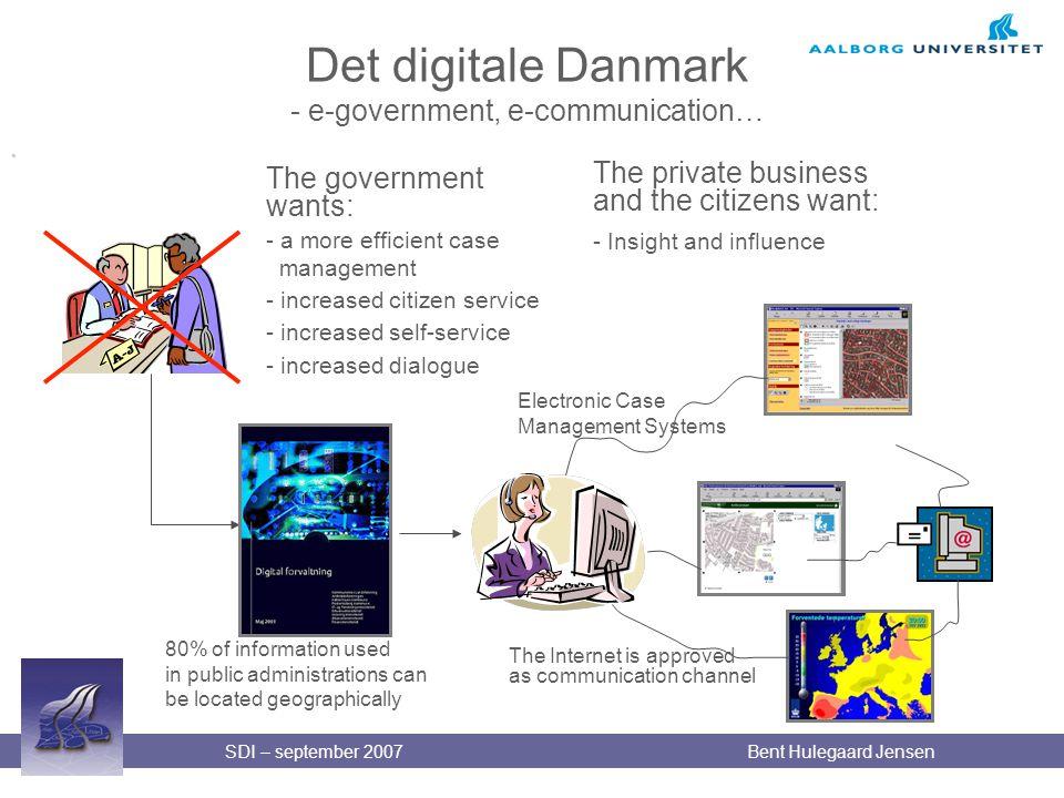 Det digitale Danmark - e-government, e-communication…