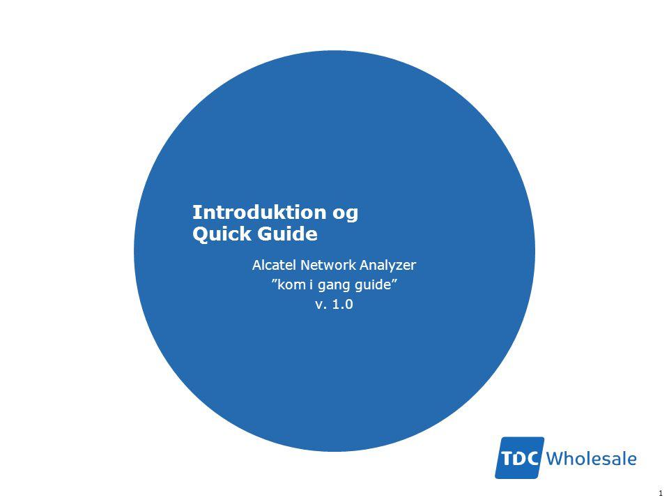 Introduktion og Quick Guide