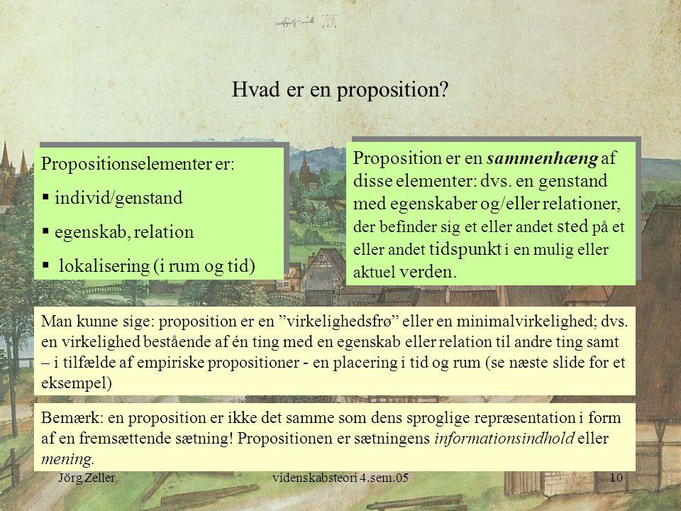 Hvad er en proposition