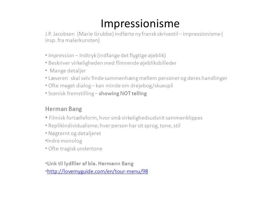 Impressionisme Herman Bang