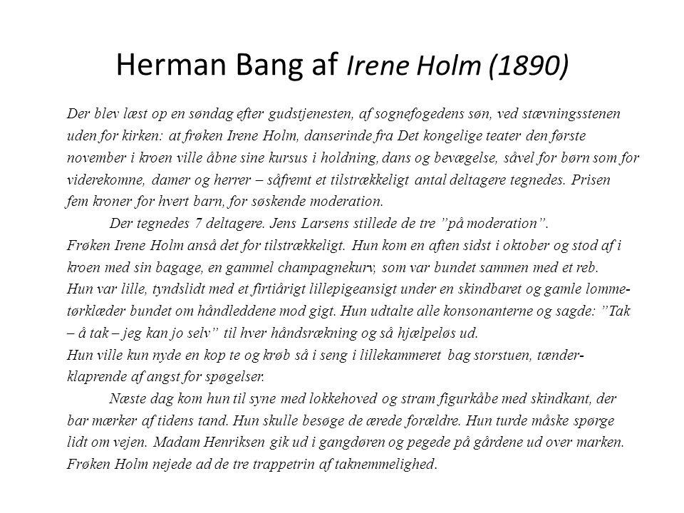 Herman Bang af Irene Holm (1890)
