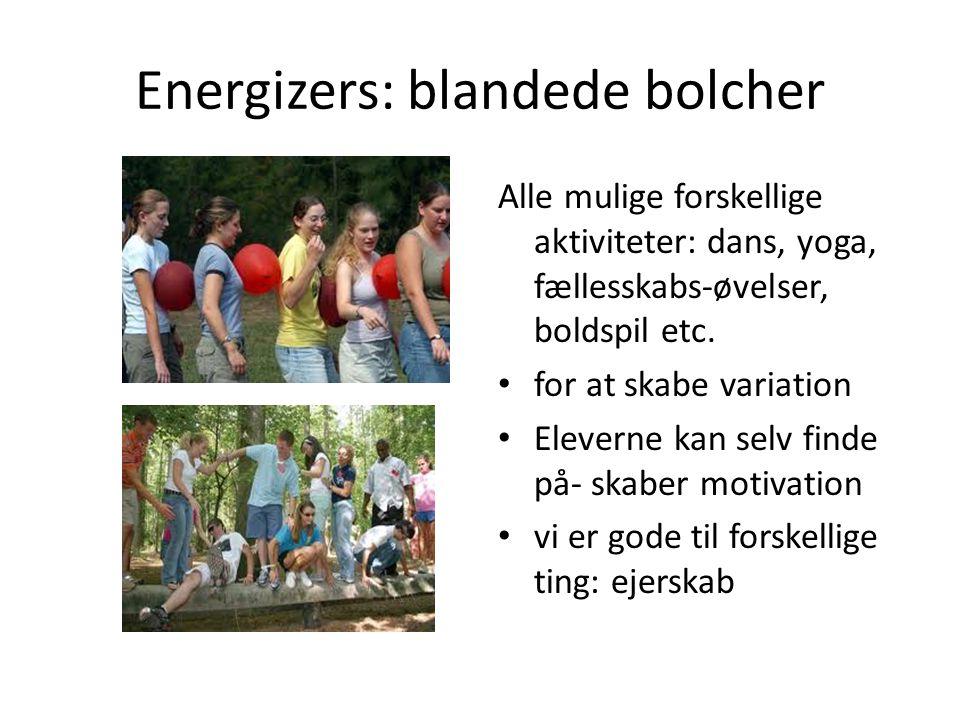 Energizers: blandede bolcher