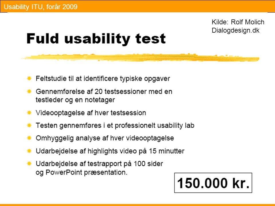 Kilde: Rolf Molich Dialogdesign.dk