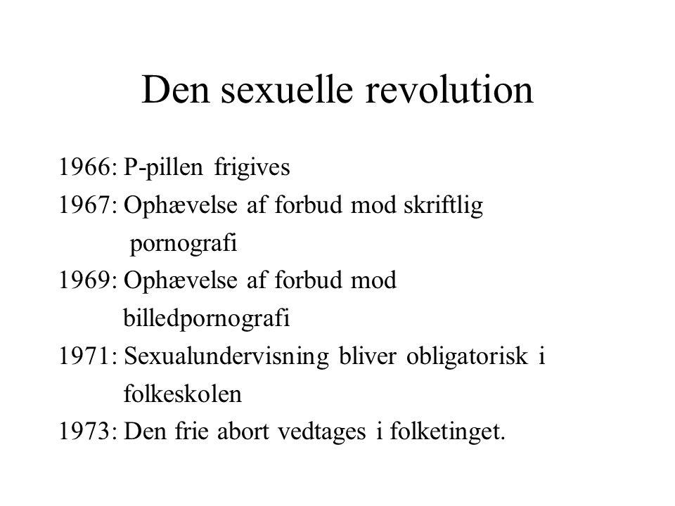 Den sexuelle revolution