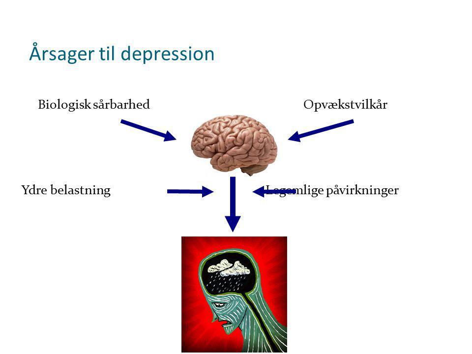 Årsager til depression