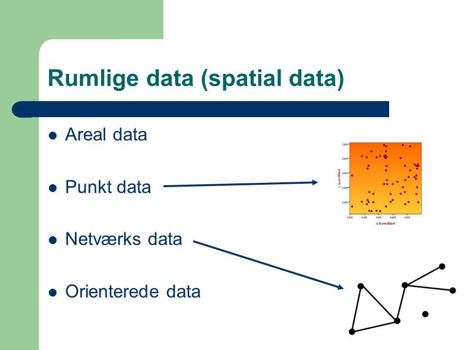 Rumlige data (spatial data)