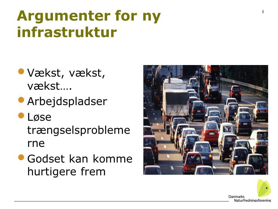 Argumenter for ny infrastruktur