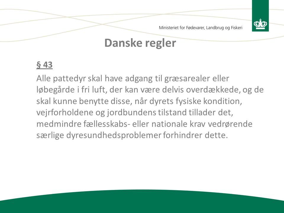 Danske regler § 43.