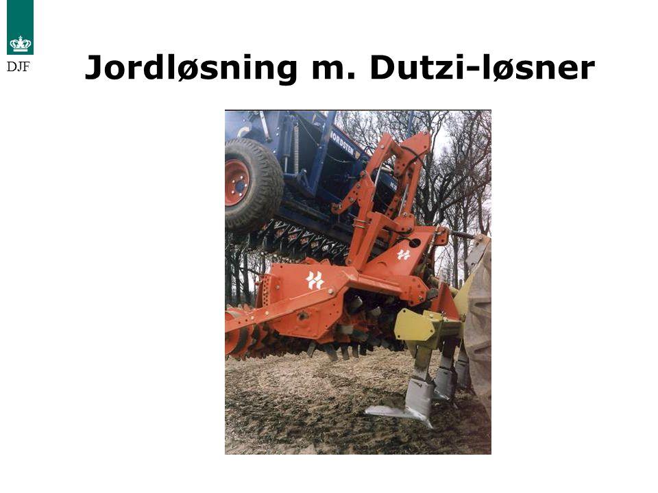 Jordløsning m. Dutzi-løsner