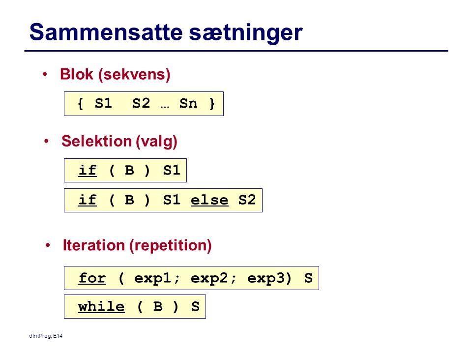 Sammensatte sætninger