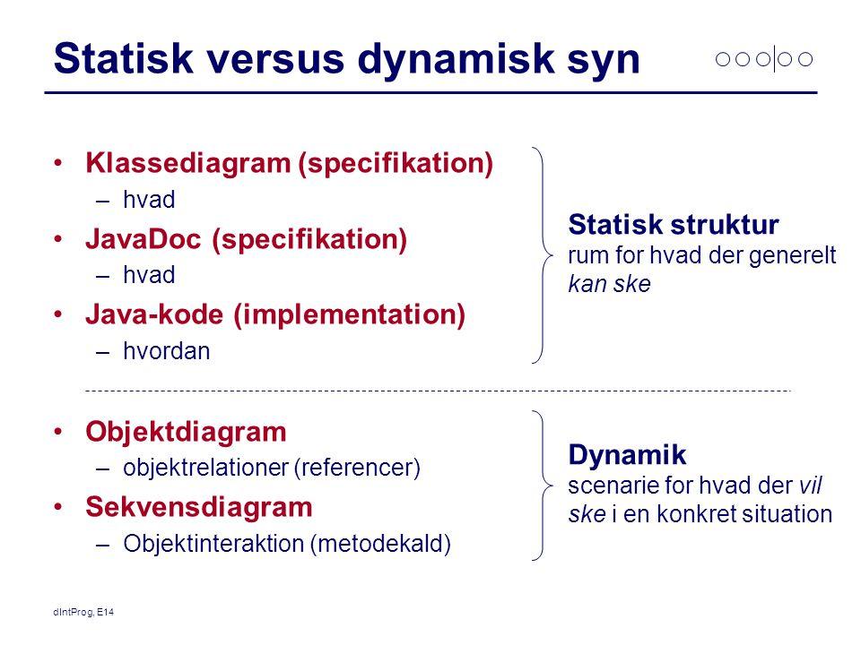 Statisk versus dynamisk syn