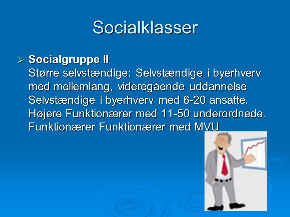 Socialklasser