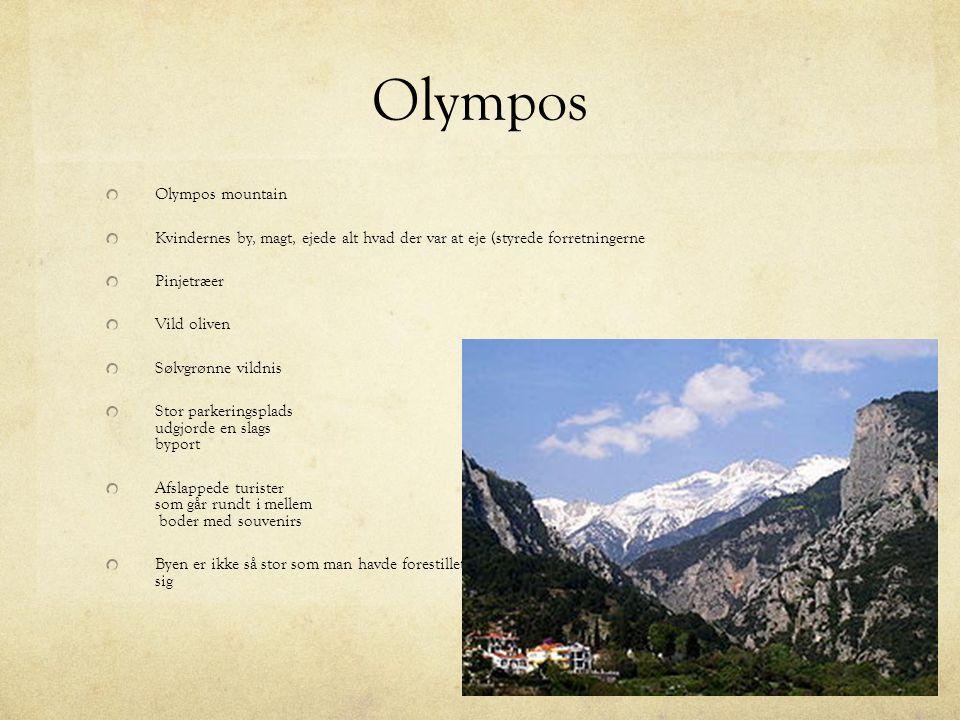 Olympos Olympos mountain