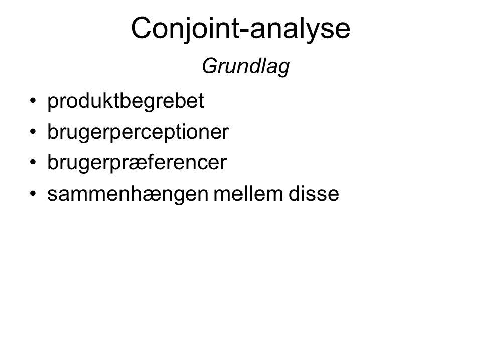 Conjoint-analyse Grundlag