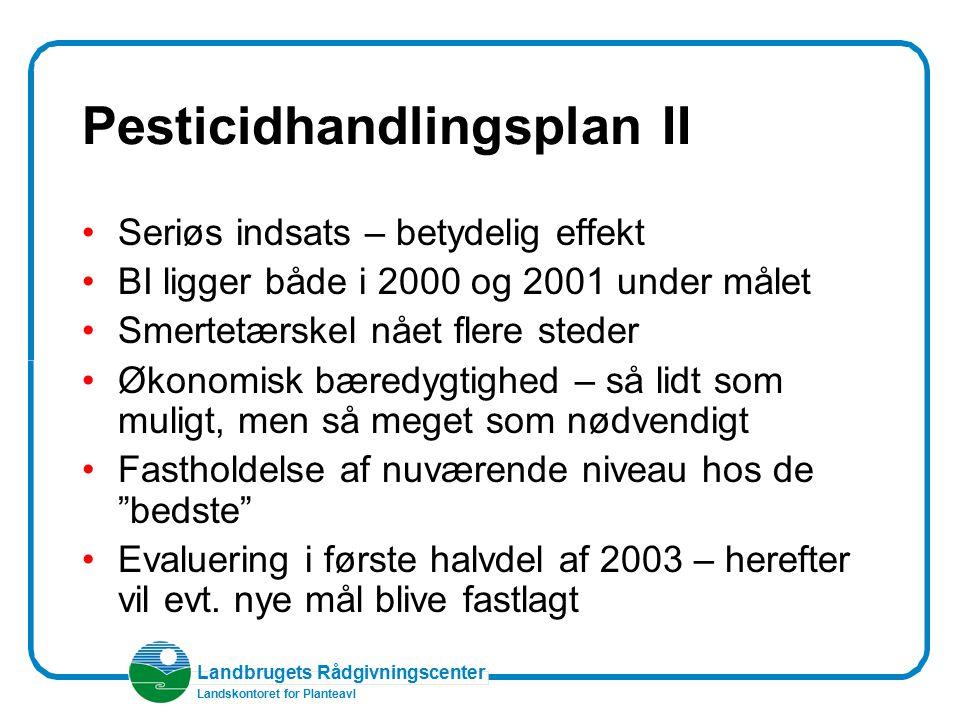 Pesticidhandlingsplan II