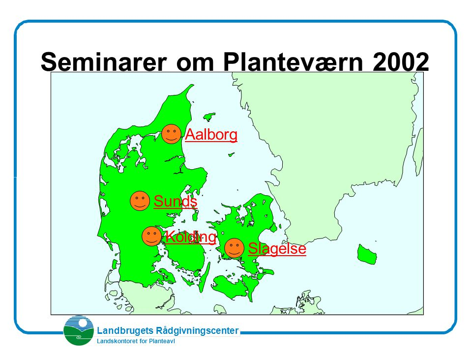 Seminarer om Planteværn 2002