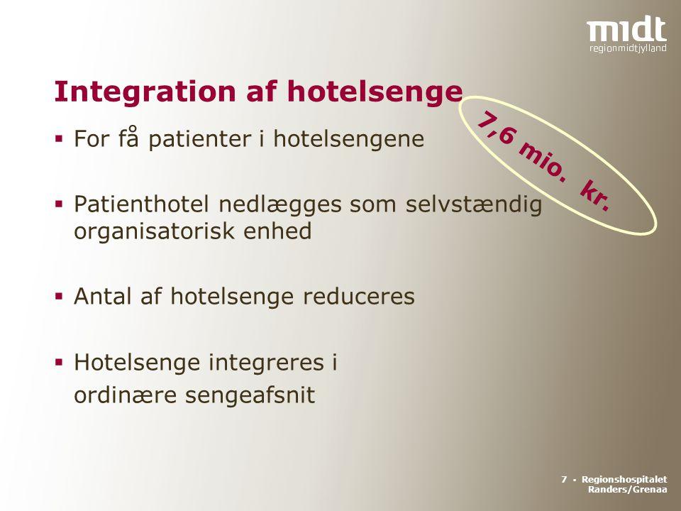 Integration af hotelsenge