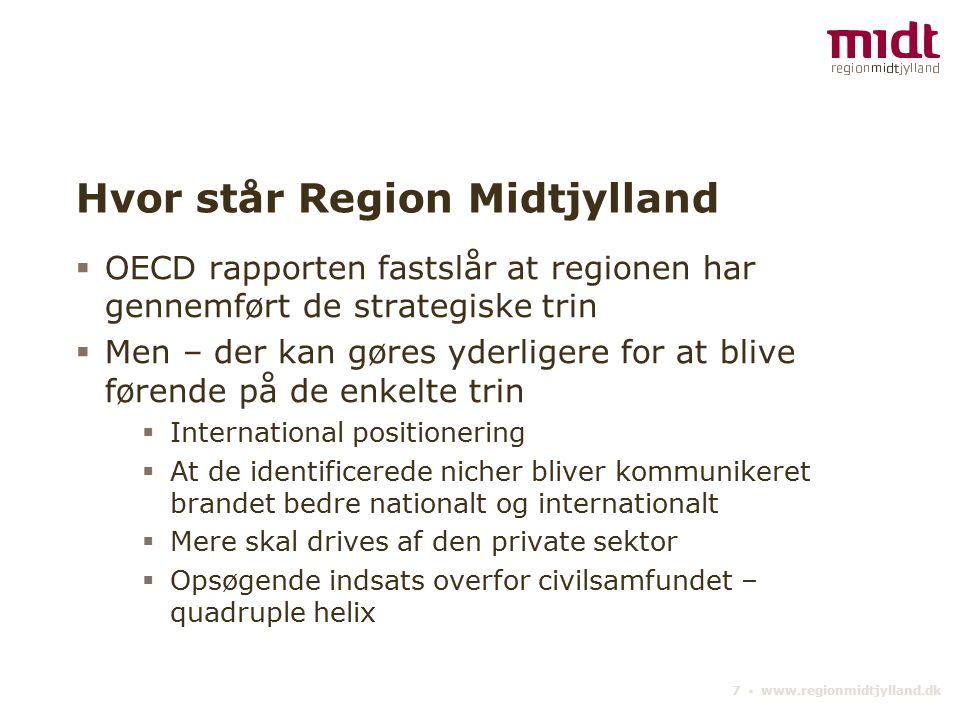 Hvor står Region Midtjylland