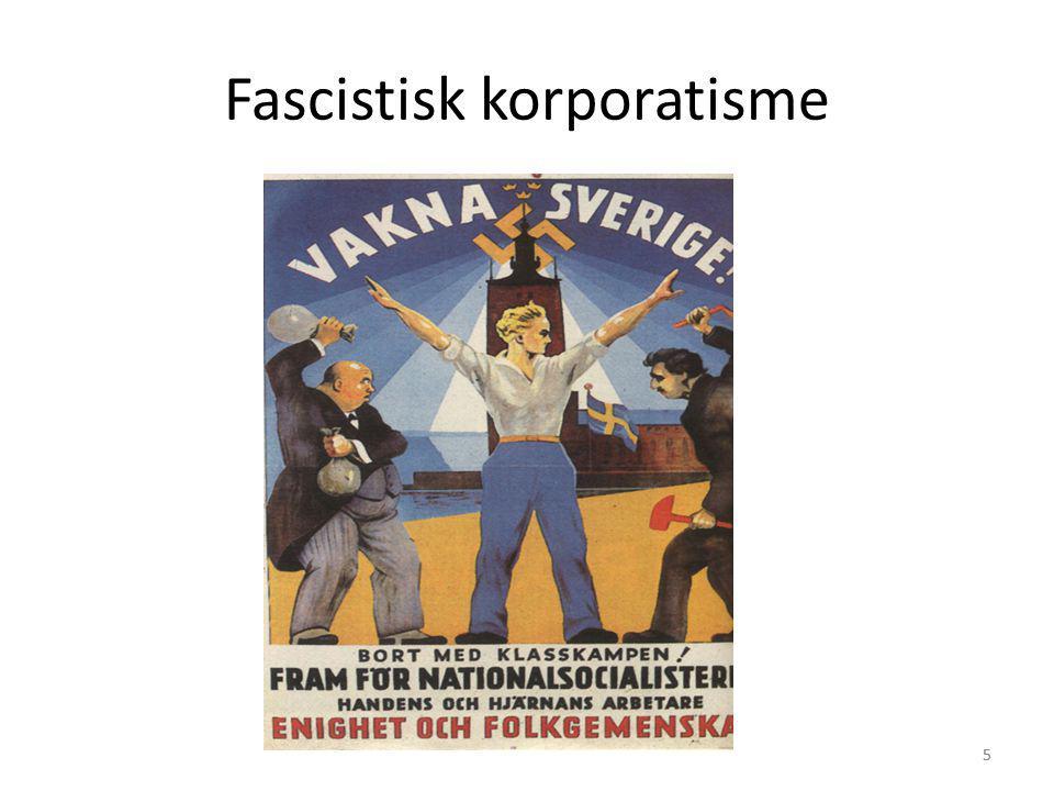Fascistisk korporatisme