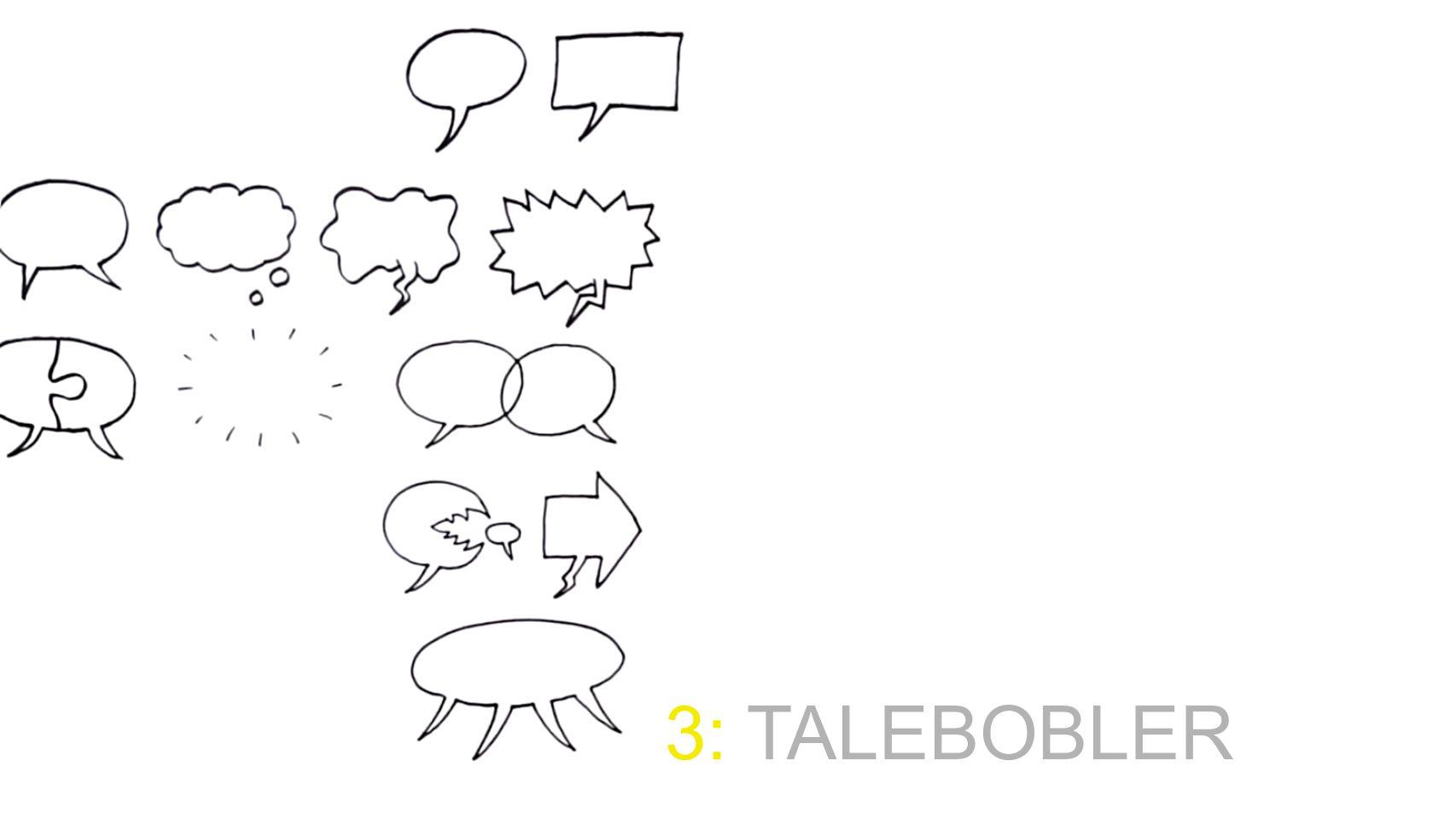 3: TALEBOBLER