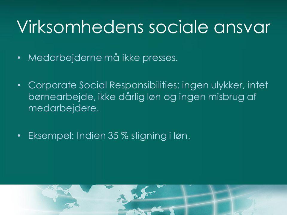 Virksomhedens sociale ansvar