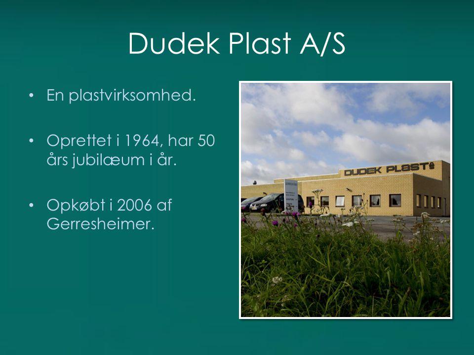 Dudek Plast A/S En plastvirksomhed.