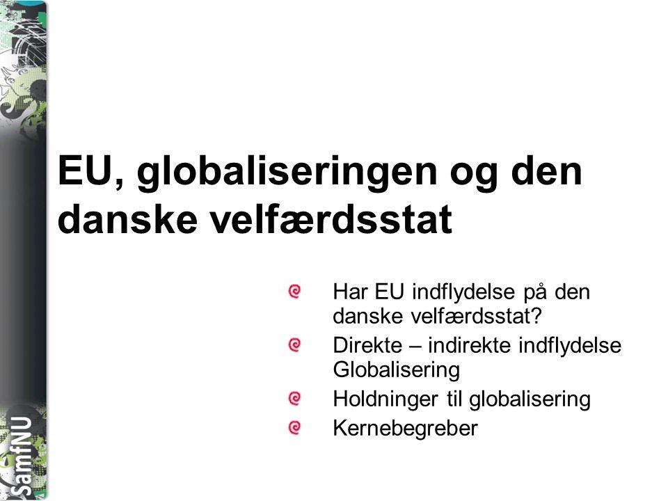 EU, globaliseringen og den danske velfærdsstat