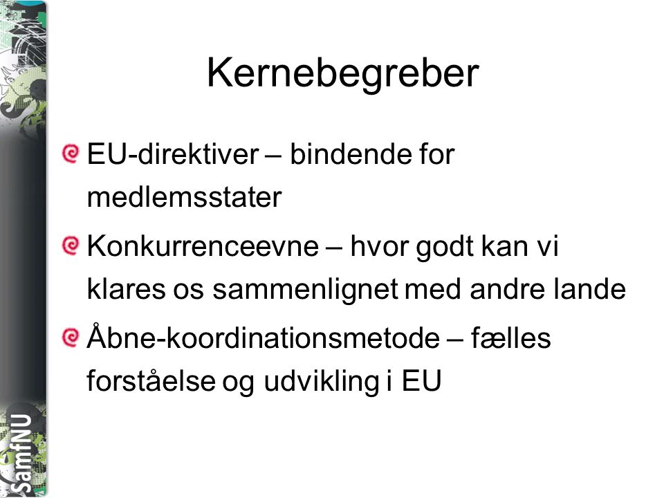 Kernebegreber EU-direktiver – bindende for medlemsstater