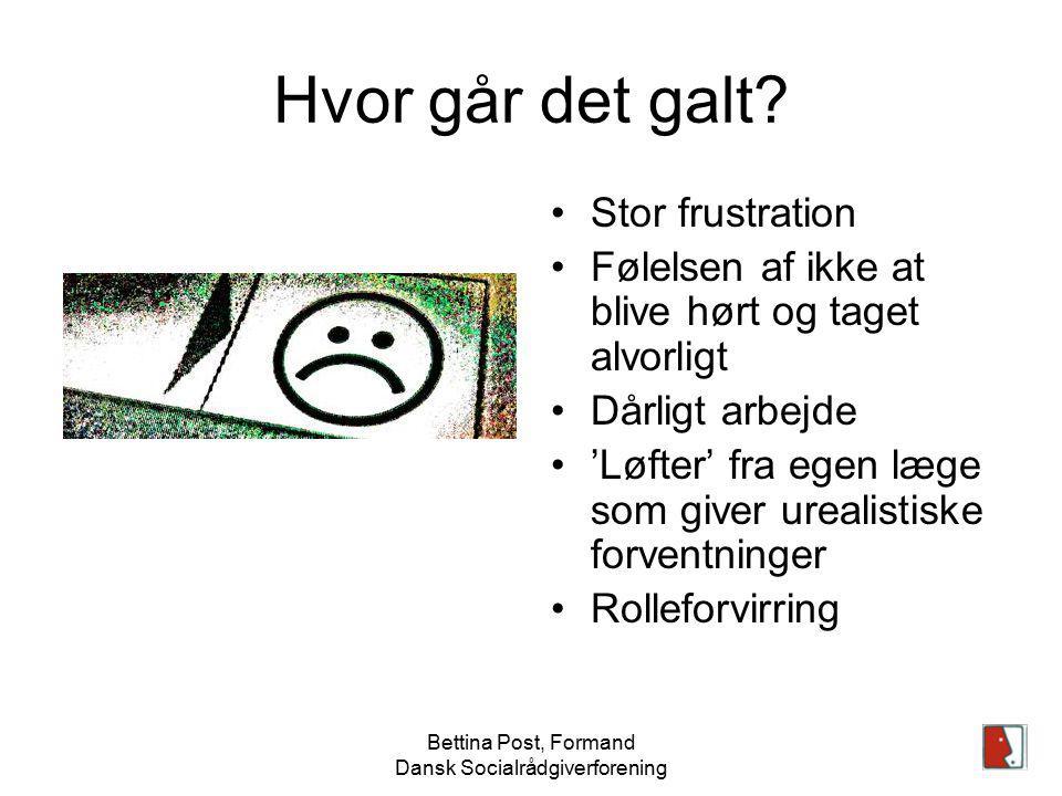 Bettina Post, Formand Dansk Socialrådgiverforening
