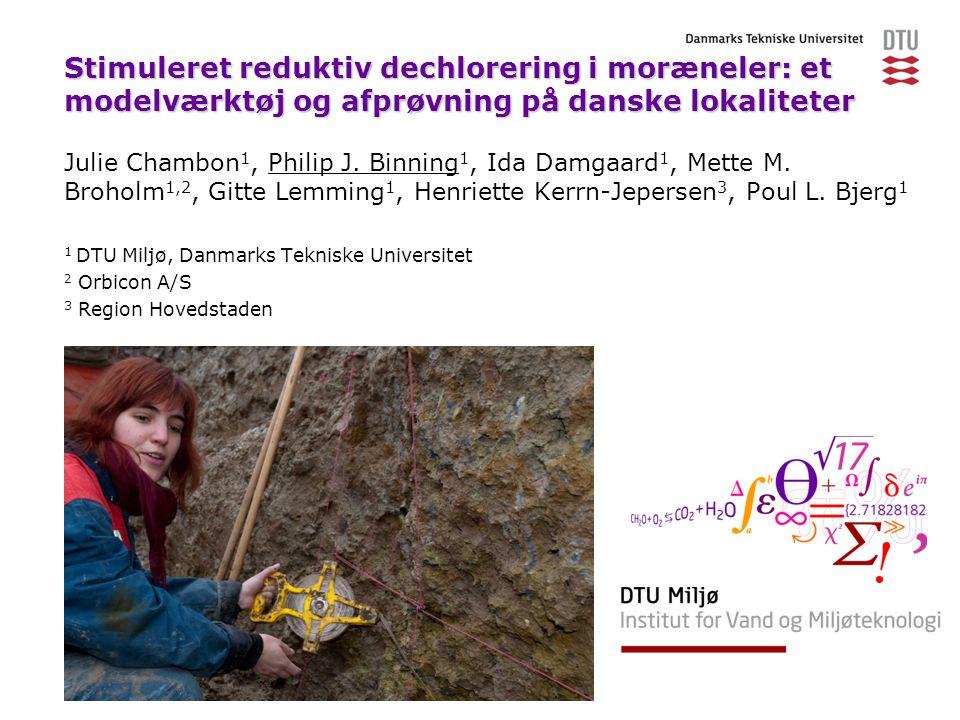Stimuleret reduktiv dechlorering i moræneler: et modelværktøj og afprøvning på danske lokaliteter