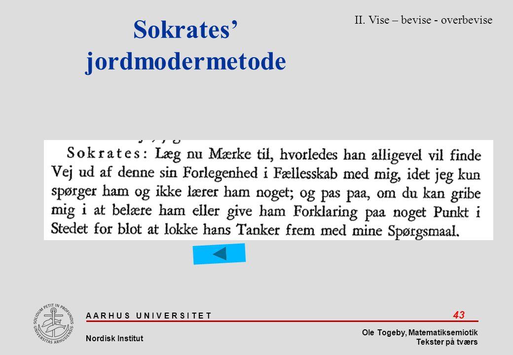 Sokrates' jordmodermetode