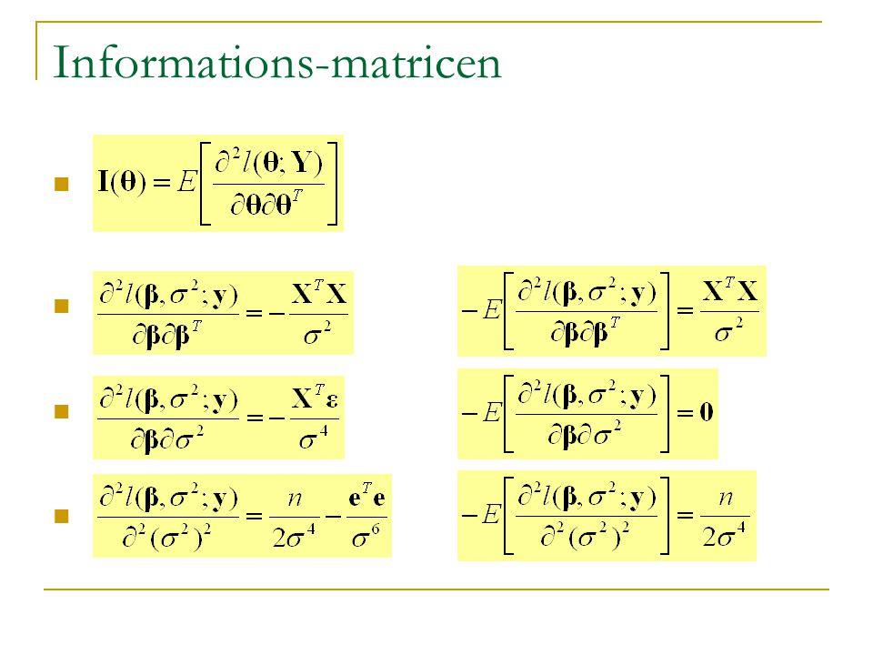 Informations-matricen