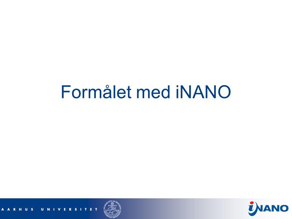 Formålet med iNANO