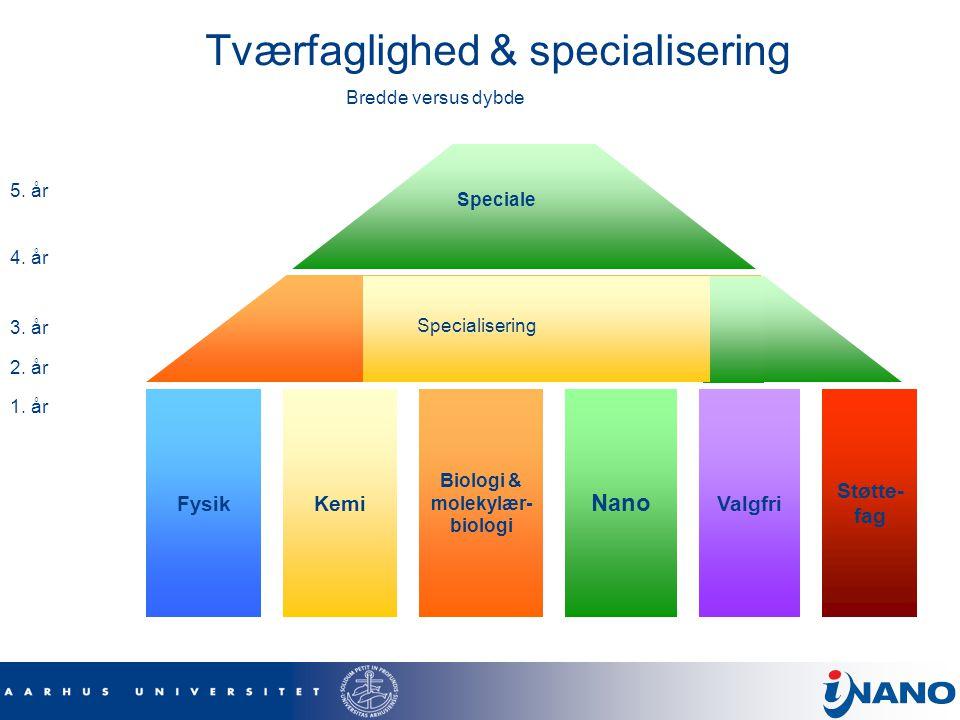 Tværfaglighed & specialisering
