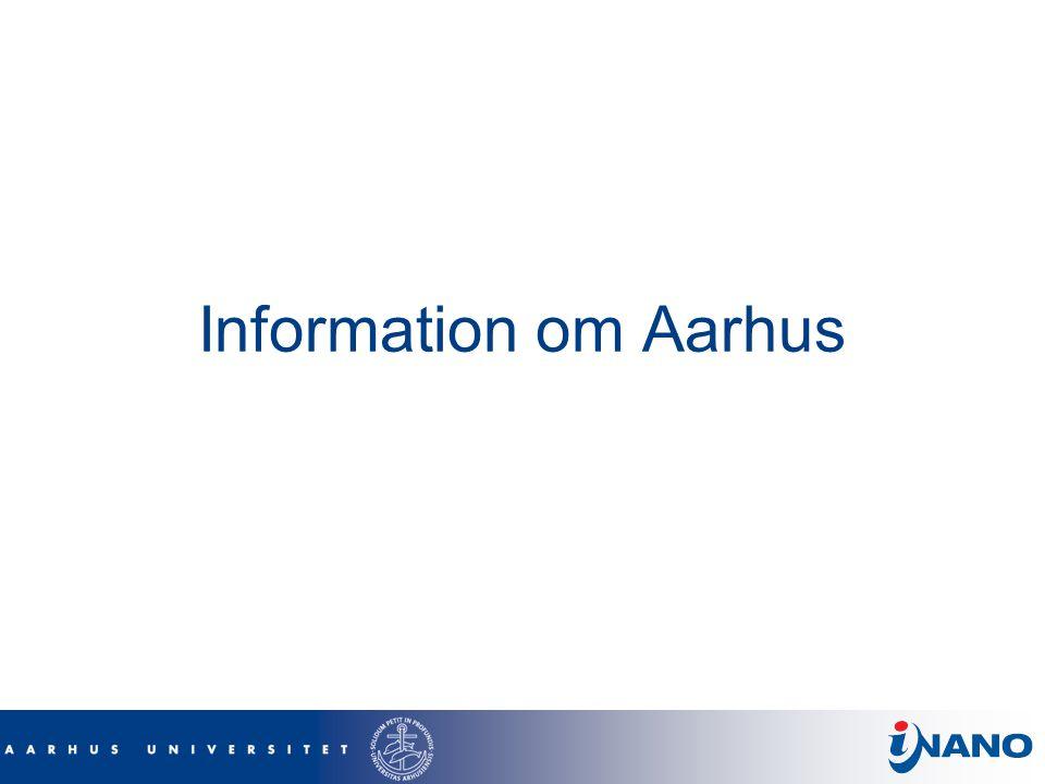 Information om Aarhus