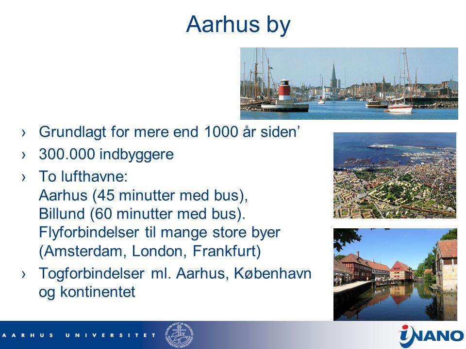 Aarhus by Grundlagt for mere end 1000 år siden' 300.000 indbyggere