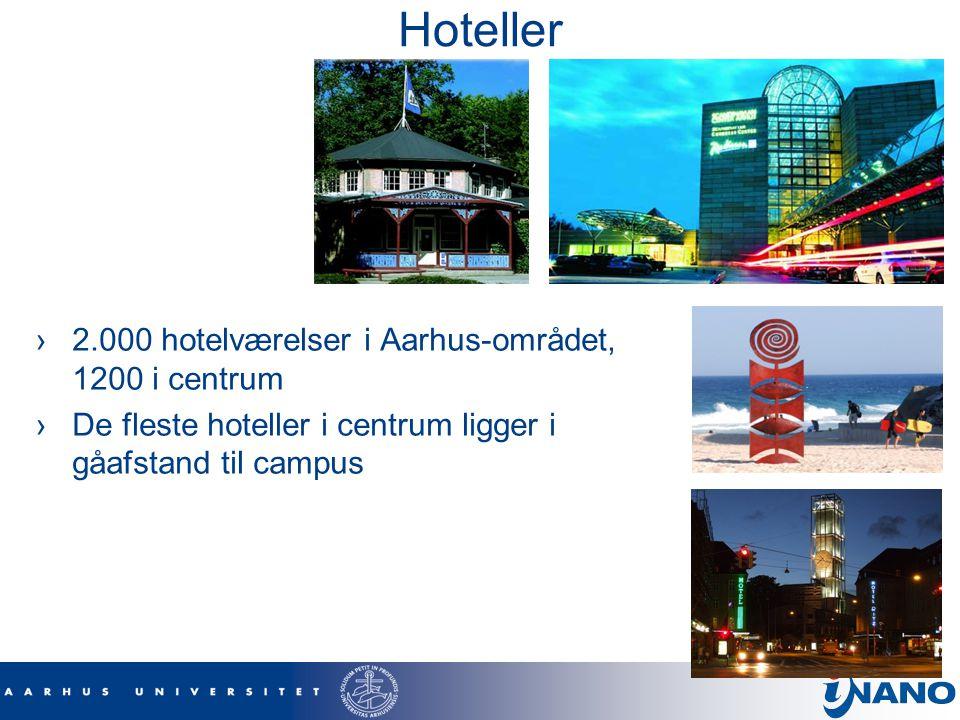 Hoteller 2.000 hotelværelser i Aarhus-området, 1200 i centrum