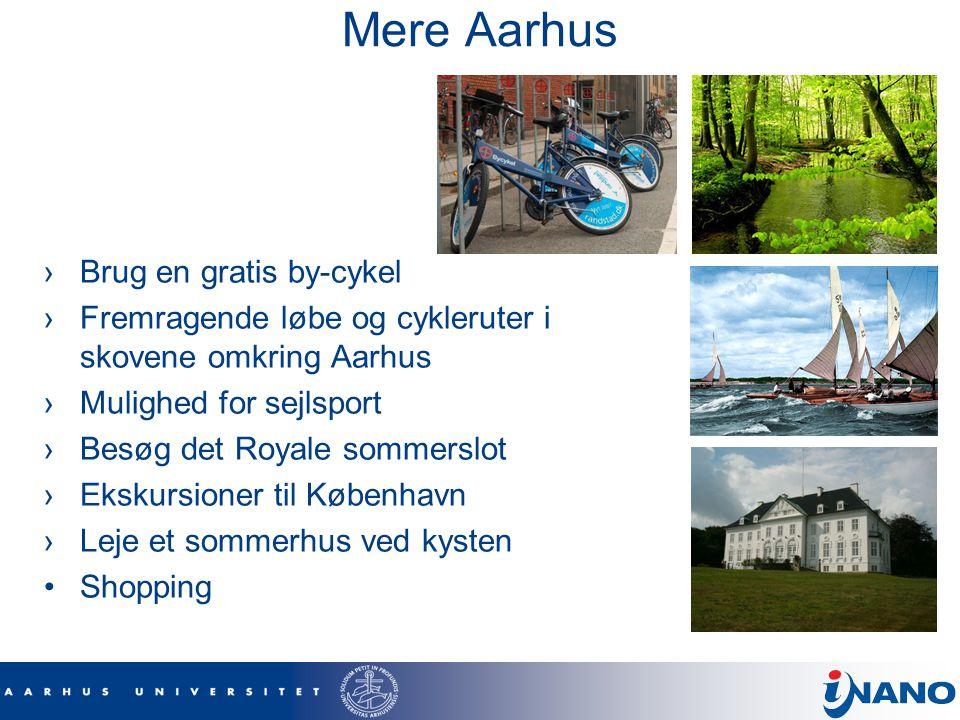 Mere Aarhus Brug en gratis by-cykel