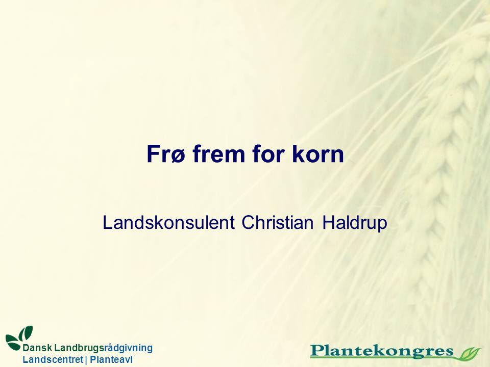 Landskonsulent Christian Haldrup