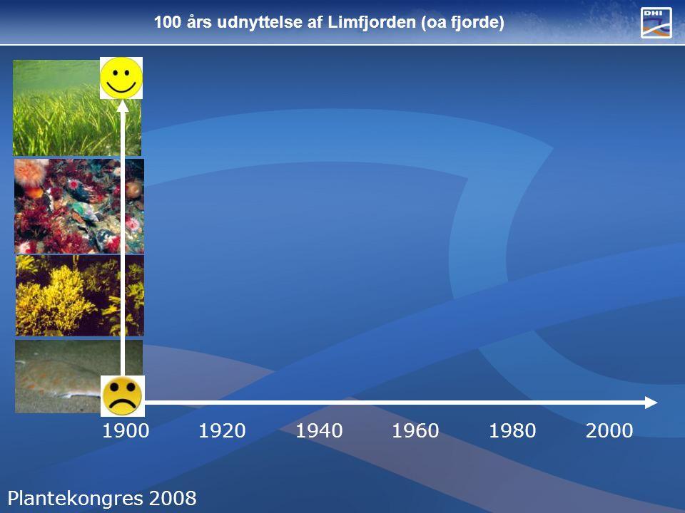 100 års udnyttelse af Limfjorden (oa fjorde)
