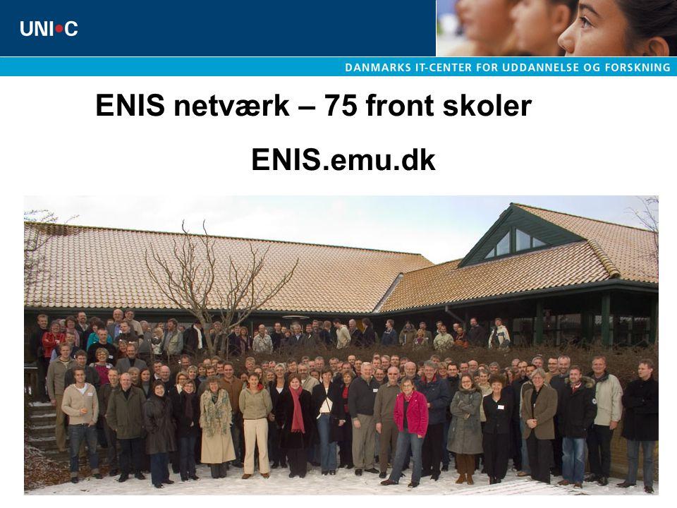 ENIS netværk – 75 front skoler