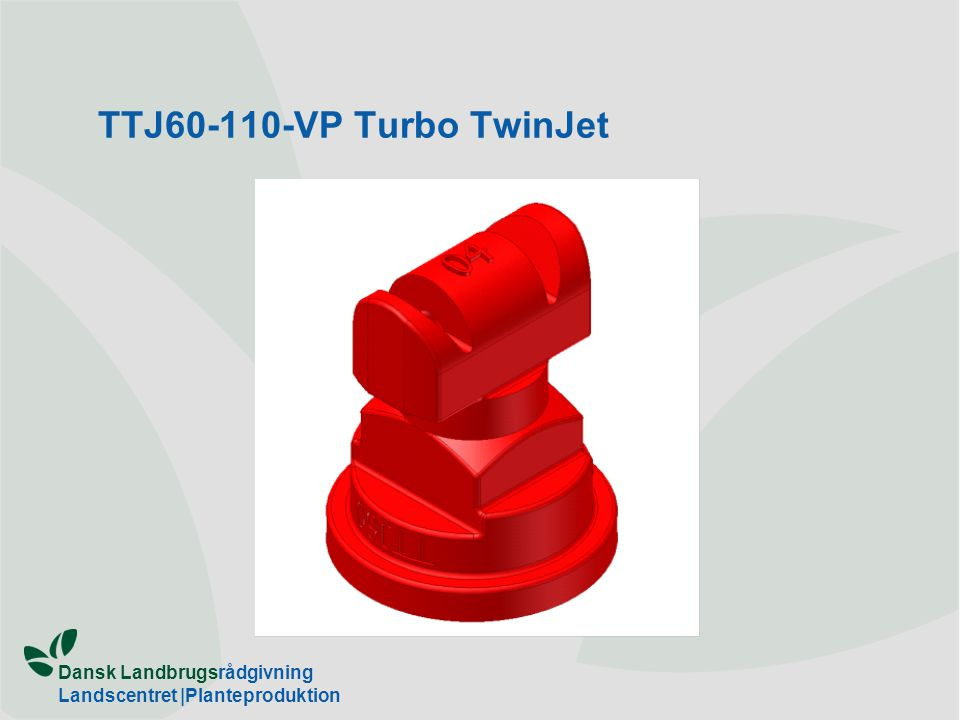 TTJ60-110-VP Turbo TwinJet