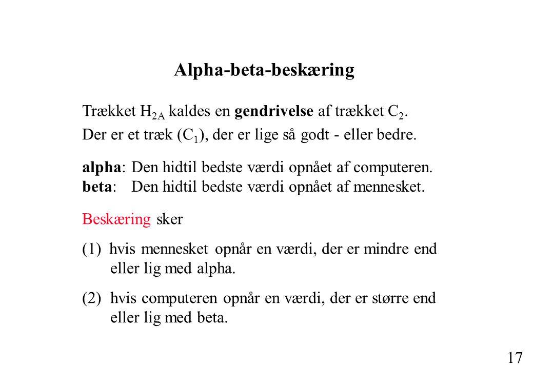 Alpha-beta-beskæring