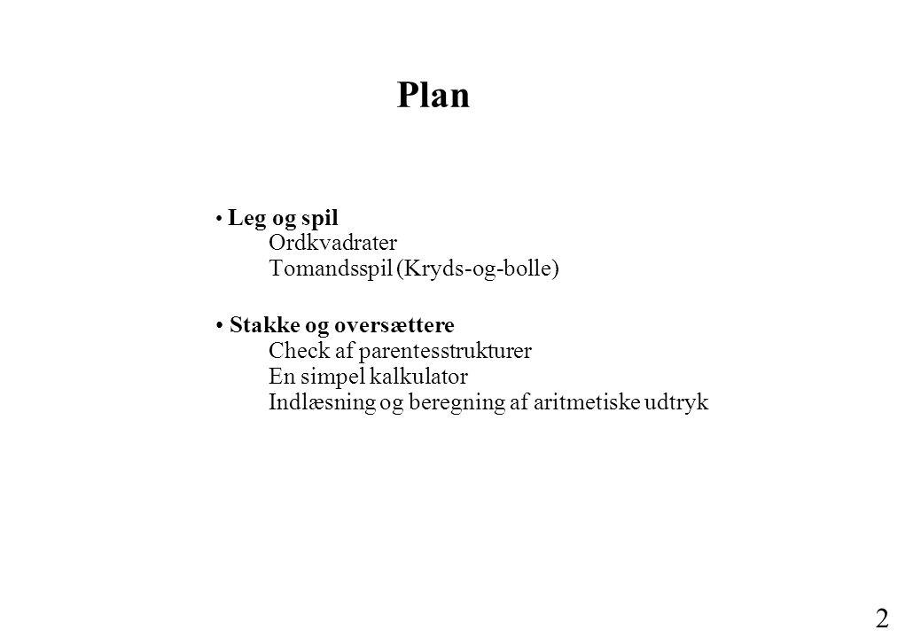 Plan Leg og spil Ordkvadrater Tomandsspil (Kryds-og-bolle)