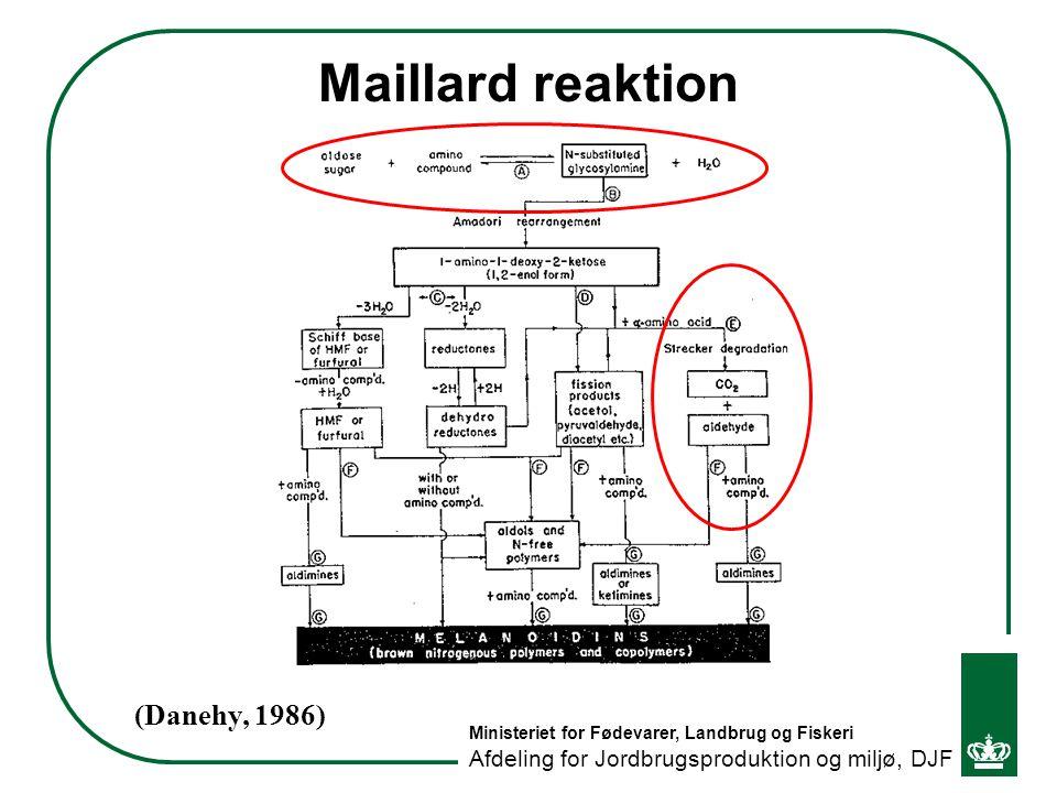 Maillard reaktion (Danehy, 1986)